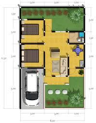 gambar dan foto denah rumah minimalis sederhana