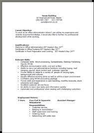 How To Write A Work Experience In Cv Filename My College Scout
