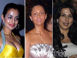 bollywood celebrities with oily faces style beauty