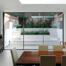 sliding patio door metal triple glazed insulated sky frame 3