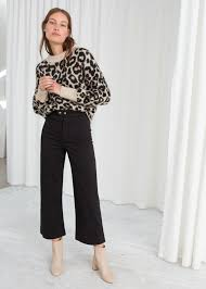 <b>Twill culottes</b> | & other stories | Summer work outfits, Black <b>culottes</b> ...