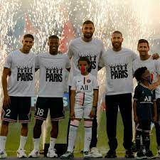 PSG supporters ahead of French league game