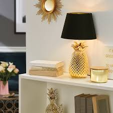 Lidl Is Selling A 1299 Pineapple Lamp Lidl Tropical Homeware