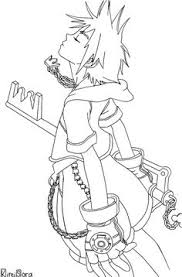 Small Picture Sora nin KH by neofox on deviantART Lineart Pinterest Naruto