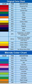 Eternal Ink Colour Chart Proudly Accepts Member Login Membership Registration