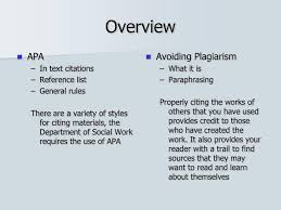 How To Properly Cite A Paraphrase In Apa Using Apa Style To Avoid
