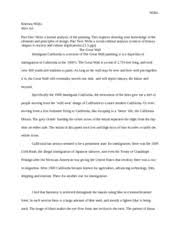 art importance of naturalism essay how important is  3 pages the great wall response art 1101