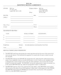 Simple Rental Agreement Basic Rental Lease Template Harriscatering Info