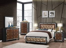 global furniture camila modern dark grey finish wood accents queen bedroom set 5 pcs reviews