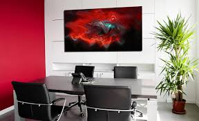 office wall art ideas. Red Blue Black Abstract Canvas Wall Art For Office Ideas Hang On Wite R