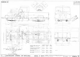 teriann s expedition land rover site 1962 land rover 109 basic chassis coach builders drawing