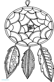 Coloriage Mandalas Attrape Reve Coeur Unique Dessin Attrape Reve