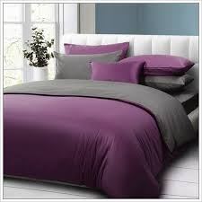 purple and grey duvet cover the duvets