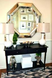 entryway table decor ideas decoration change your in id foyer entrance hall entry round small way decorating