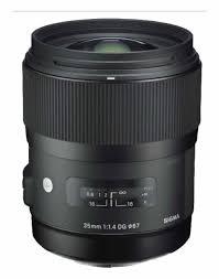 sony 35mm. sigma - 35mm f/1.4 dg hsm a standard lens for select sony digital cameras e