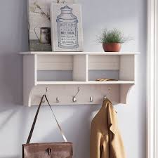 Wood Wall Mounted Coat Rack Adorable Manzanola Wood Wall Mounted Coat Rack Reviews Birch Lane