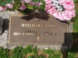 Rosemary Beal Fink (1933-2010) - Find A Grave Memorial