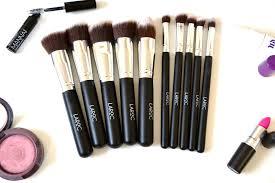 affordable brushes laroc 10 piece kabuki make up brush set
