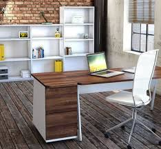 white walnut office furniture. Ascend Executive Straight Desk White Walnut Office Furniture
