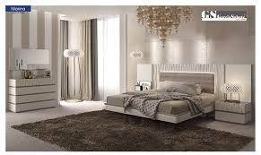 Marina White Bedroom Set by ESF