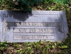 Lillie Sizemore Knuckles (1886-1973) - Find A Grave Memorial