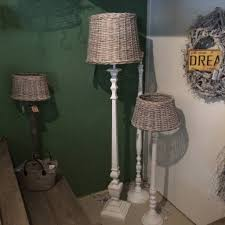 Rotan Lampenkap Staande Lamp Unixpaint