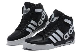 adidas shoes high tops for men. cheap adidas trainers lovers high top shoes in black white on sale tops for men p