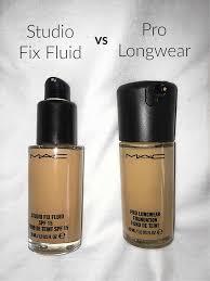 Mac Studio Fix Fluid Vs Pro Longwear Foundation Popex Sisters