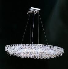 home design charming oval shaped crystal chandelier modern intended for elegant home oval crystal chandelier decor