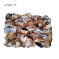 how to clean my faux fur rug red fox blanket silver real x