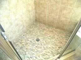 replacing shower floor tiles shower tile installation
