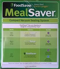 Foodsaver Mealsaver Compact Vacuum Sealing System White Model Fsmssy0211 027