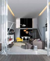 Modern Apartment Living Room Contemporary Apartment Living Room Design With Grey Accents Sofa