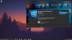 Amazon's Windows 10 Prime Video app ...