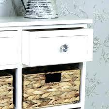 storage unit with baskets wicker basket units 6 cream wood bathroom stora storage units with baskets