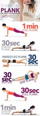 best exercises for 2018 5 minute almost no work plank