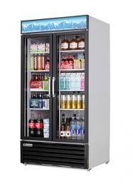 Ems Vending Machine Awesome Everest Refrigeration EMSGR48 Twosection ReachIn Glass Door