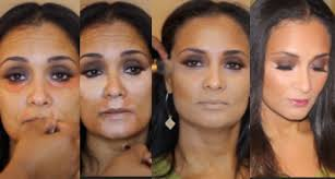 eye makeup for 45 year old women over 40 color correction highlight contour