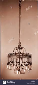 Kronleuchter Tiffany Glas Und Dekorieren Firma Ca 1900