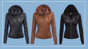 s best ing faux leather jacket is perfect for spring and affordable