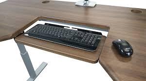 omega olympus adjule steadytype ergonomic keyboard tray corner computer desk with keyboard drawer coaster l black computer desk with keyboard tray uk
