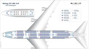 Boeing 747 Seating Chart World Traveller Plus Seat Maps Boeing 747 Seat Chart