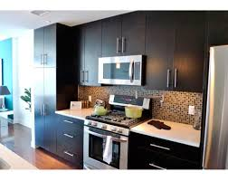 One Wall Kitchens One Wall Kitchen Designs One Wall Kitchen Layout With Dark