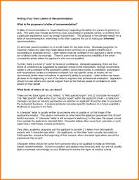 Medicalchool Letter Of Recommendation Example Writingervice