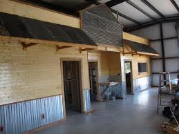 do it your self corrugated metal garage walls