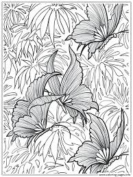 Butterfly Coloring Pages Printable Life Cycle Page Print Adults ...