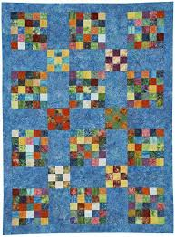 Nine-Patch Quilts | AllPeopleQuilt.com & Batik Patches Quilt Adamdwight.com