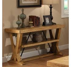 Rustic Console Table Base
