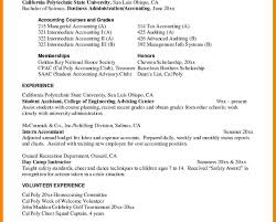 How To Write Resume For Internship Resume Template