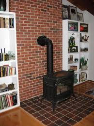 old existing gas fireplace